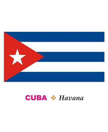cuban colors cuba flag coloring pages for to color and print
