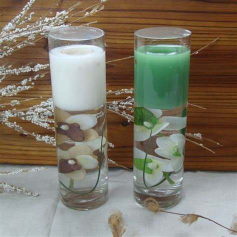 Home Decoration Product home decoration gel candle glass candle holder jelly