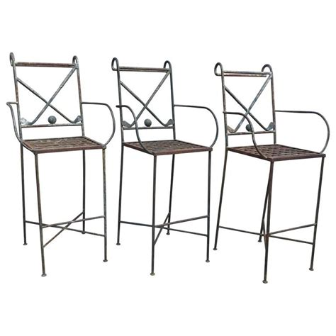 Themed Bar Stools by Set Of Three Golf Themed Bar Stools For Sale At 1stdibs