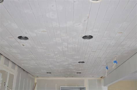 Sanding A Ceiling by Diy How To Paint A Planked Ceiling For A Finish