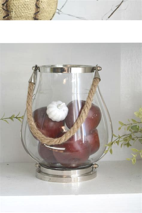apple decor for home natural and rustic a diy filled fall home tour our