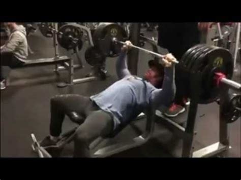 bench press 500 mike o hearn 480 lbs to 500 lbs incline bench press