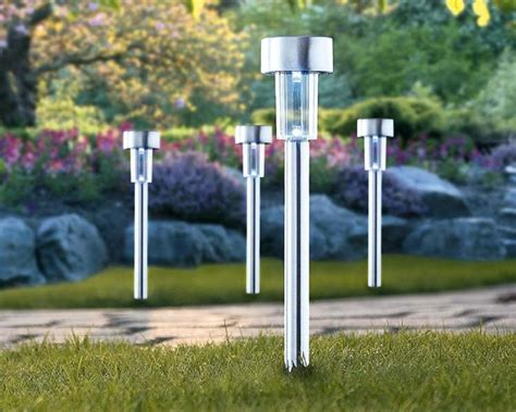Patio Lighting Solar Solar Outdoor Lights For Garden Landscape Lighting Inertiahome