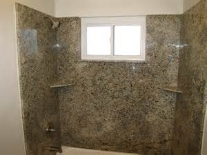 granite slab shower walls and new moen valve yelp