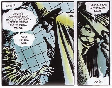 Resumen V De Vendetta by Libro V De Vendetta De Alan Y David Lloyd