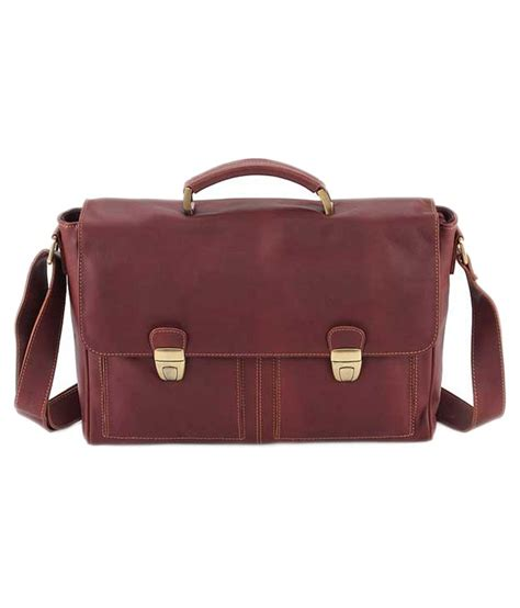 B Internationals Capriccio Laptop Bag The Bag by S B International Brown Leather Office Bag For Buy S