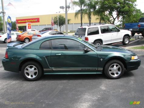 2000 ford mustang v6 2000 ford mustang v6 coupe in green metallic