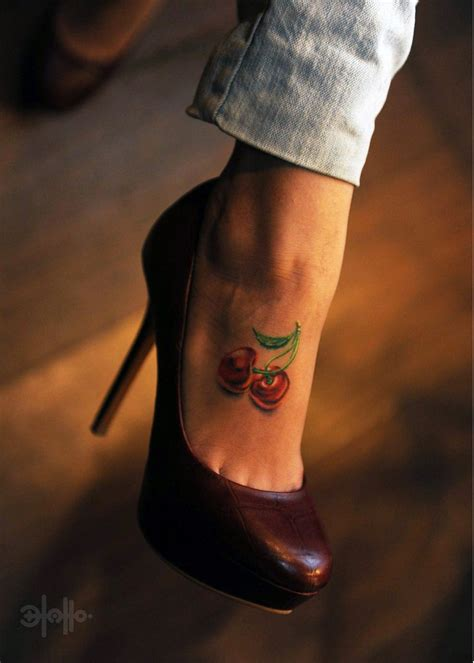 55 best cherry tattoos collection