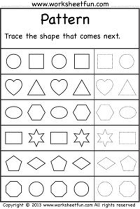 bead pattern worksheet 1000 images about pre k on pinterest dual language