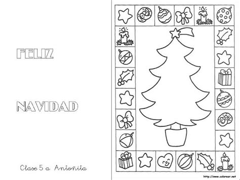 christmas tree advent calendar coloring page 72 best tarjetas de navidad images on pinterest