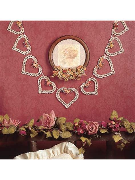 heart garland pattern spring summer crochet patterns heart garland