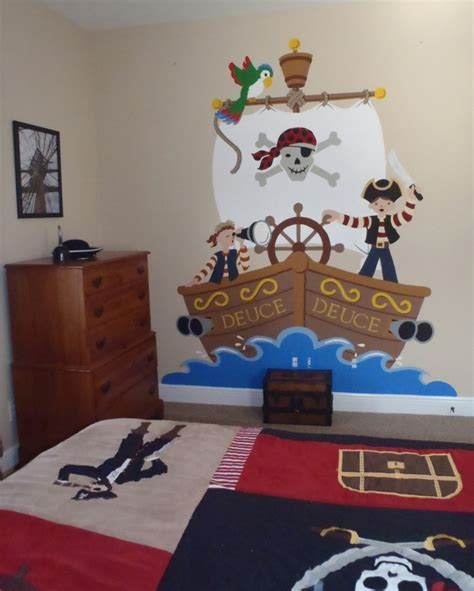 kinderzimmer deko piraten wandtattoo pirat kinderzimmer reuniecollegenoetsele