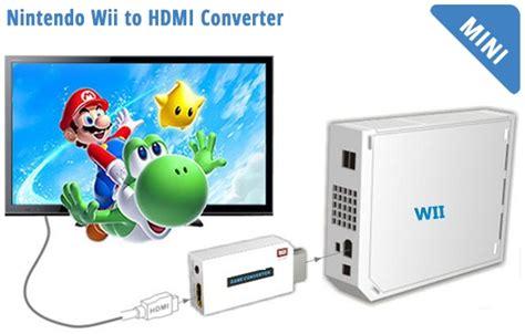 Tokobanggapra 42 Hdmi To Micro Hdmi Konektor Kualitas konverter nintendo wii ke hdmi dengan 3 5mm port white jakartanotebook