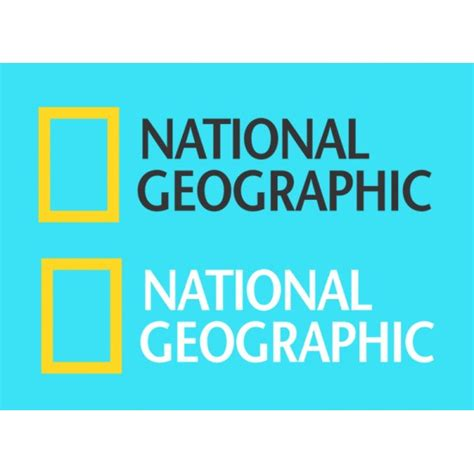 Sticker National Geographic national geographic logo stickers