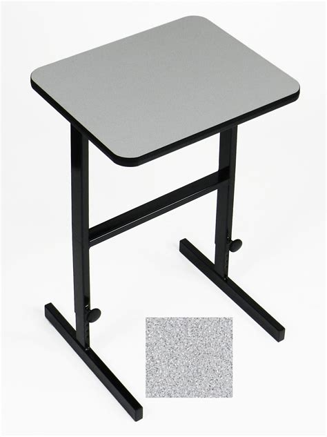 adjustable standing height workstation 20 in x 24 in cst2024