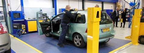 garage mot centre workshop flooring easy install