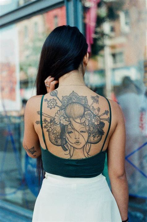 geisha beautiful tattoo geisha tattoos are beautiful pinterest