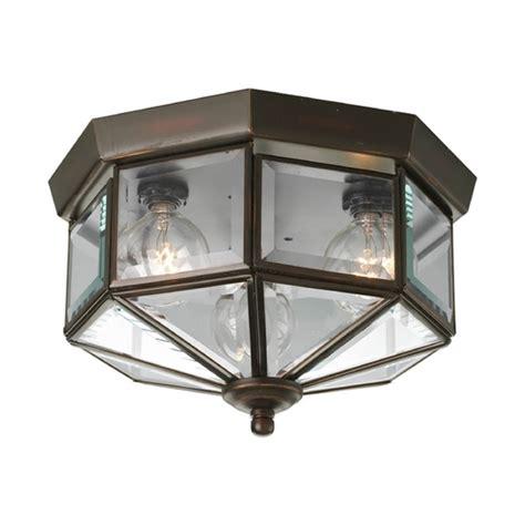 progress lighting p5788 10 progress bronze outdoor ceiling light with clear glass