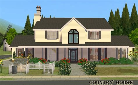 Housing Floor Plans Free mod the sims country house