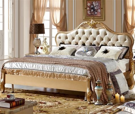 New Style Bedroom Bed Design 2016 Furniture Bedroom Designs New Classical Design Bed 0409 A09 In Beds From Furniture