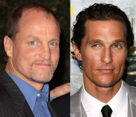 woody harrelson looks like owen wilson matthew mcconaughey and woody harrelson are heading to hbo