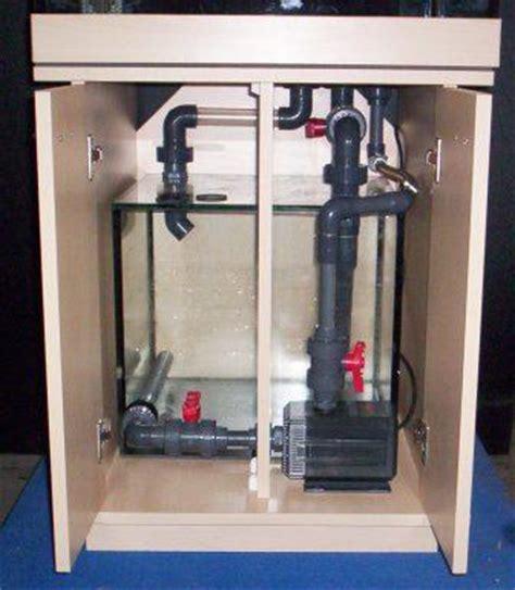schrank luftdicht meerwasser anlage w 252 rfel 250l mit kompl filteranlage
