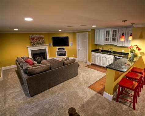 basement decor small basement apartment decorating ideas modern