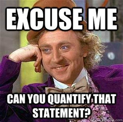 Cheeky Meme - quantify or be ignored the most important cv tip ever