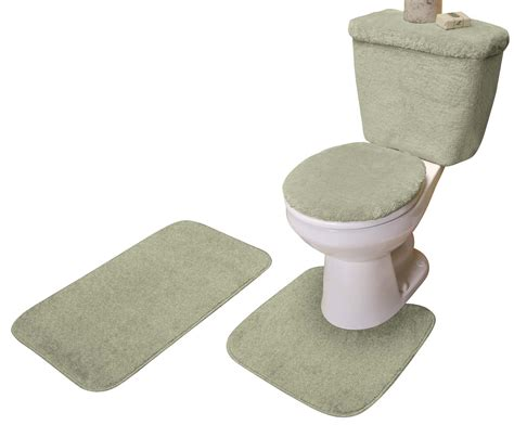 5 piece bathroom rug set 5 piece bath set by miles kimball ebay