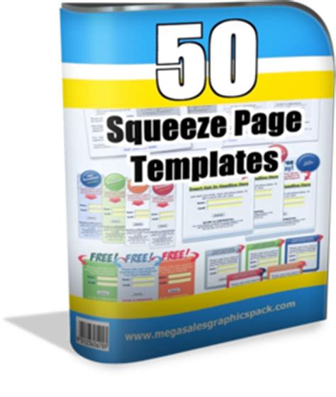 squeeze page templates information about megasalesgraphicspack graphics