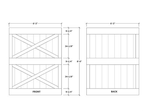 Woodwork Building A Wooden Door Pdf Plans Build A Barn Door Plans