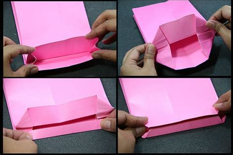 How To Make Paper Bags Step By Step - how to make a paper bag 11 steps with pictures