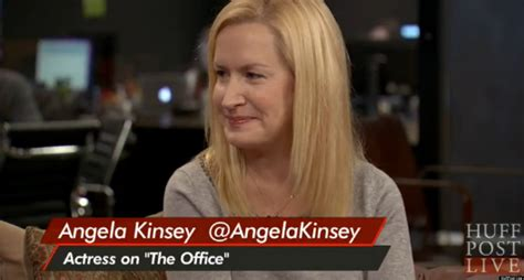 angela kinsey the office talks divorce and co