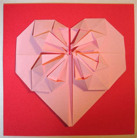 origami hearts origami flickr photo