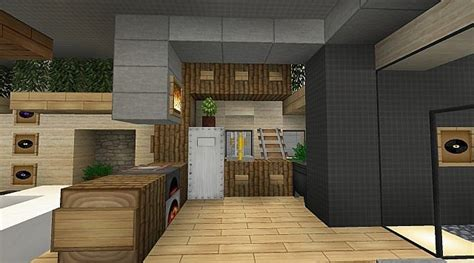 minecraft furniture kitchen modern jazz luxury home minecraft project