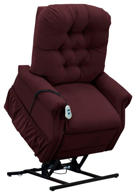 med lift small scale lift chair berry transitional