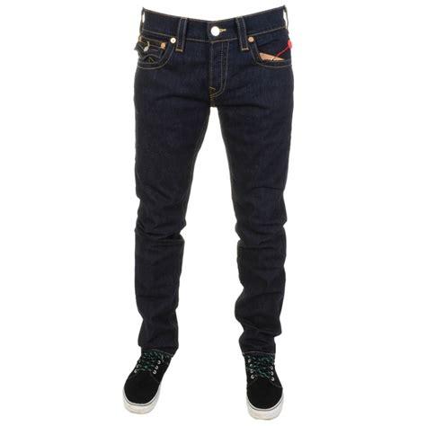 skinny jeans for men true religion zach skinny jeans in blue for men lyst
