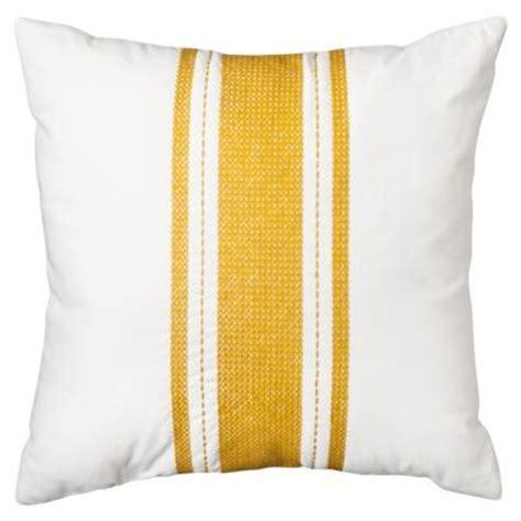 threshold stripe pillow gold i target