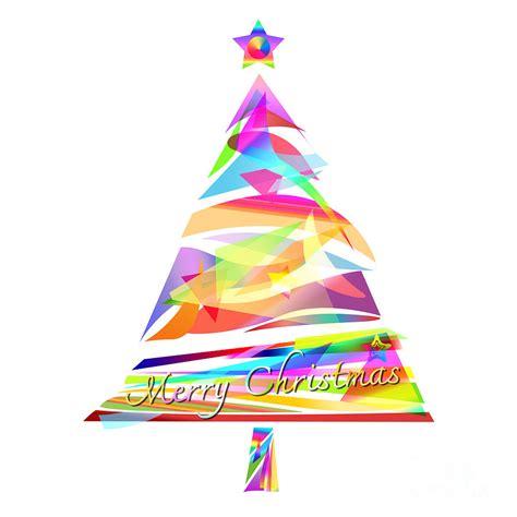 christmas tree design painting by setsiri silapasuwanchai