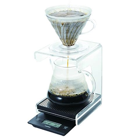 Promo Hario V60 Drip Coffee Scale Vst 2000 Vst2000 With Timer hario v60 drip pour coffee scale and timer vst 2000 japan import