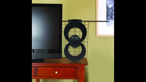 clearstream  uhfvhf indooroutdoor hdtv antenna assembly  installation indoors youtube