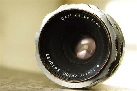 Len Jena by Carl Zeiss Jena Tessar F28 50mm Lens Adaptable To Digital