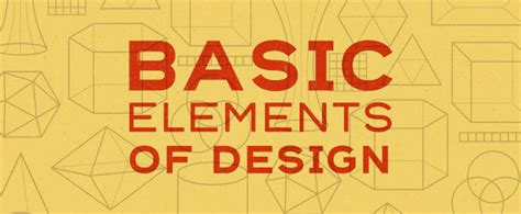 design elements com 10 basic elements of design creative market blog