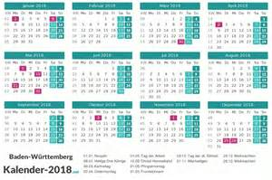 Kalender 2018 Feiertage Im Mai Kalender 2018 Baden W 252 Rttemberg