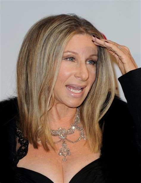 barbara streisand hair more pics of barbra streisand medium straight cut 5 of 8