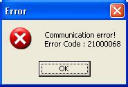 t60 resetter communication error share your knowledge working t50 and t60 adjustment