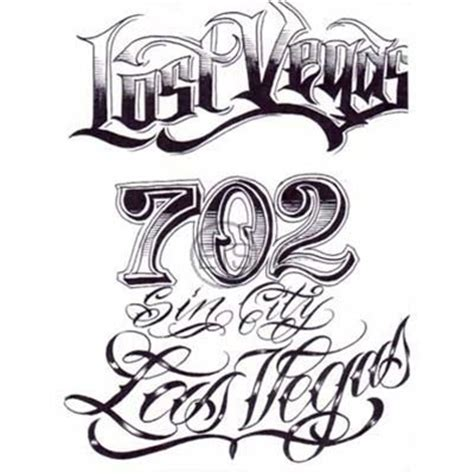 tattoo number fonts designs pin boog name script lettering gangster book