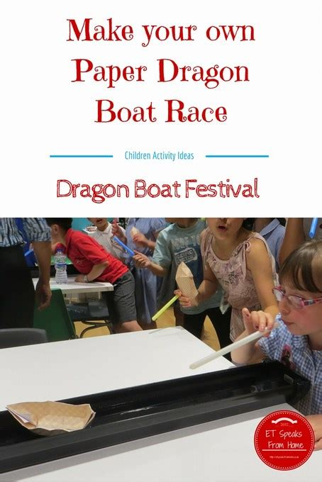 dragon boat racing tutorial paper chinese dragon boat race et speaks from home