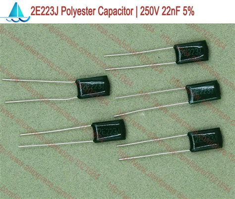 capacitor polyester 22nf x 250v capacitor polyester 22nf x 250v 28 images 0 022uf 22nf 250v non polar polyester capacitor
