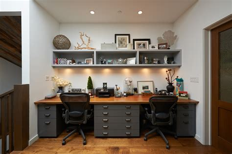 Home Office Two Desks Two Person Desk Home Office Furniture